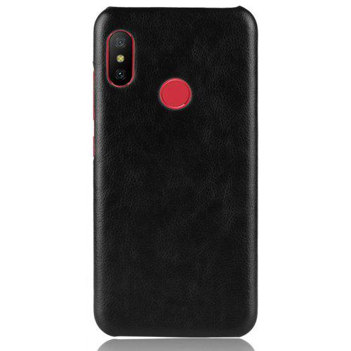 Cover Case for Redmi 6 Pro New Litchi Leather Skin Luxury PC Hard