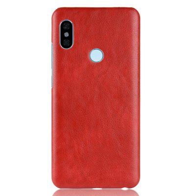 Cover Case for Redmi Note 5 Pro New Litchi Leather Skin Luxury PC Hard