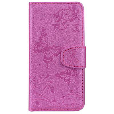 Mirror Case for Huawei P20 Phone Butterfly Glossy Wallet Leather Cover butterfly bling diamond case