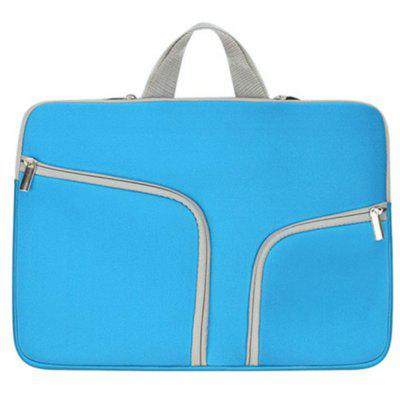 Fashion Laptop Bag for MacBook 11 inch high quality vintage genuine leather briefcase men cowhide 14 laptop bag portfolio messenger bags for macbook for ipad
