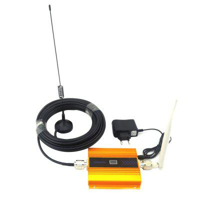 2G GSM 900MHz Mobile Phone Signal Booster Repeater with Antenna LCD Display md3010ii metal detector underground deep mine silver digger treasure hunter fully automatic with lcd display panning for gold