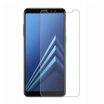 2PCS Screen Protector for Samsung Galaxy A8 2018 Protection Film Tempered Glass