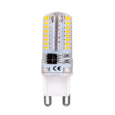 Ampoule G9 à DEL dimmable, 4 watts, blanc chaud, 3000K, base 64X3014SMD, CA 230V