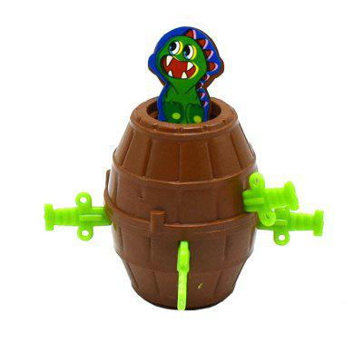 Children Puzzle Assembling Pirate Bucket with Sword Shot Small Monster Toy 17 styles shoe stool solid wood fabric creative children small chair sofa round stool small wooden bench 30 30 27cm 32 32 27cm