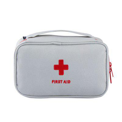 Household Outdoor Travel Portable Mobile Emergency Medical Storage Bag 1set outdoor wilderness survival first aid kit medical bag rescuing equipment camping hiking medical emergency treatment packs