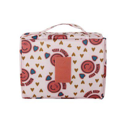 Multi-Function Printing Travel Cosmetic Sundries Storage Bag portable canvas flower floral cosmetic bag travel toiletry wash makeup storage bags organizer make up case for women