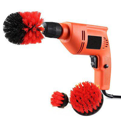 3-in-1 Electric Drill Brush Head 580W Hand Portable Power Tool bl1830 lithium electric tool battery 3000mah for makita bl1830 18v 3 0a 194205 3 194309 1 lxt400 electric power tool vhk11 t0 4