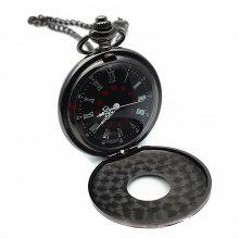 Roman Pattern Steampunk Retro Vintage Quartz Numerals Pocket Watch