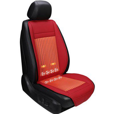 Seat Cover Refrigeration Blowing Cooling Massage Smart Car Seat Cushion 2016 infrared heating car home body massage pillow neck cervical traction massager cushion car seat cover relaxation massage