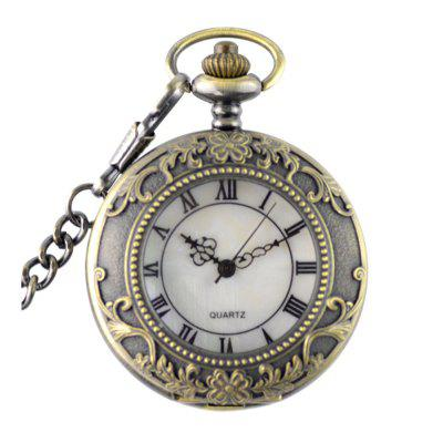 Seasonal 3152272 Flip Cover and Hollow Student Pocket Watch