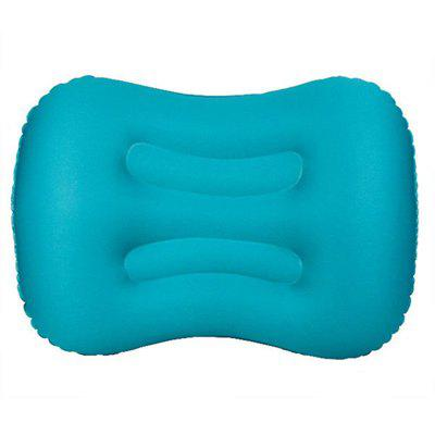 Inflatable Travel Air Pillow Neck Camping Sleeping Gear Fast Portable