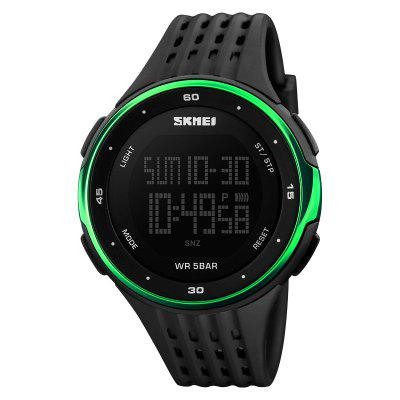 SKMEI Sport Quartz Wrist Men Analog Digital Waterproof Military Watch sport military business dress quartz watch dial clock men mens leather wrist watch round case waterproof shockproof watches relo