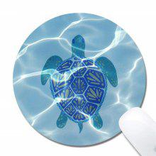 Non Slip Rubber Mouse Pad Beautiful Pattern Desktop Small Size