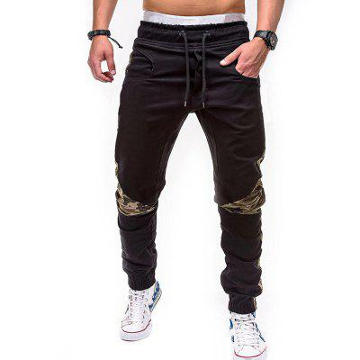 Men Plus Size Casual Slim Fit Jogger Pants slim fit basic blazer