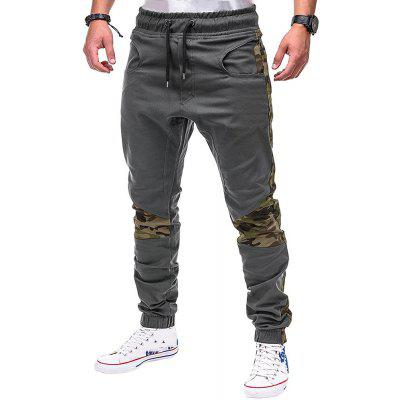 Men Plus Size Casual Slim Fit Jogger Pants