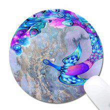 Non Slip Rubber Mouse Pad Beautiful Pattern Desktop Flying Bird