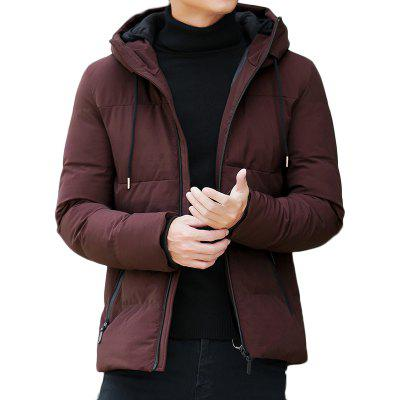 Men Fashion Trend Casual Down Coat