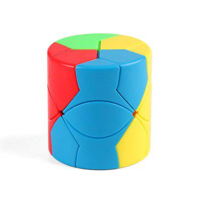 Cylindrical Puzzle Toy Magic Cube for Intelligence Development professional rubik cube speed magic cube 3x3x3 educational learning puzzle cube toy magic cubo magico