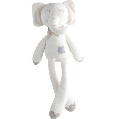 Long-legged Elephant Baby Sleeps Soothe Doll Toy