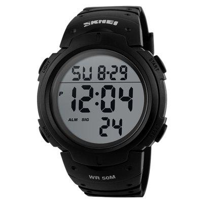 Men Waterproof 50m Digital LED Military Fashi