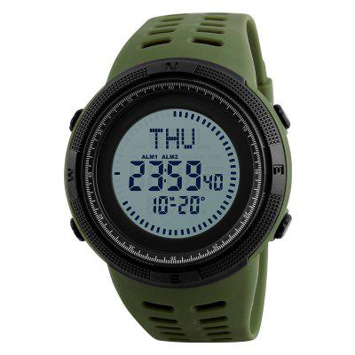 Skmei Men's Watch Sport Compass LED Digital Electronic Clock