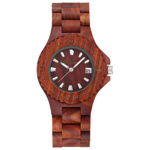SHIFENMEI 5509 Environmentally Friendly and Minimalist Wooden Watches