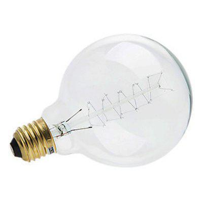 SZKINSTON E27 LED-uri retro cu LED-uri Globe 230 lm Alb cald AC 220-240V Tungsten Light
