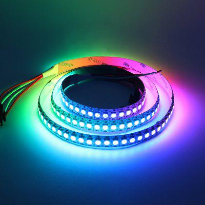 KWB WS2812B DC5V Waterproof LED Pixel Strip Light 1m 144LEDs free shipping hot selling 1m pcs aluminum led channel aluminum channel led for aluminium profile led strip