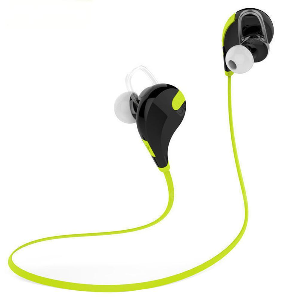 Sports Wireless Bluetooth Headset Bass Stereo Earbuds for iPhone X