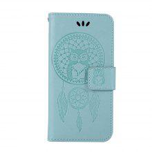 For Samsung A5 2017 Dandelion Embossed Protective Cover