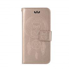 For Samsung J1 2016 Dandelion Embossed Protective Cover