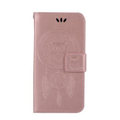 For Samsung  NOTE S6 Dandelion Embossed Protective Cover