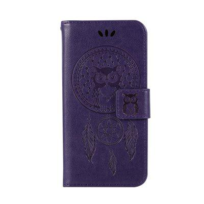 For Samsung   S6 Dandelion Embossed Protective Cover