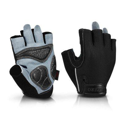 OZERO Cycling Gloves Racing Bicycle MTB Gel Half Finger Gloves Soft Breathable