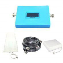 Smart PCS CDMA Mobile Phone Signal Booster 850MHz 1900MHz Repeater with Antenna