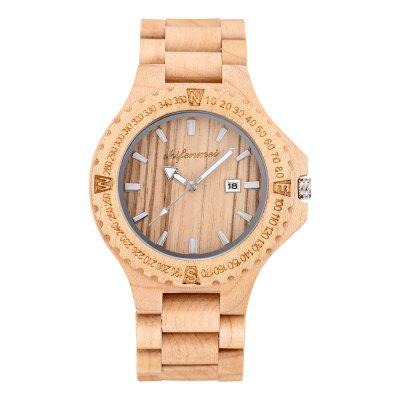 Environment Friendly Natural Original Wooden Color  Watch
