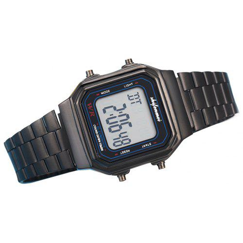 SHIFENMEI 2134 Vintage Ultrathin Electronic Wristwatch