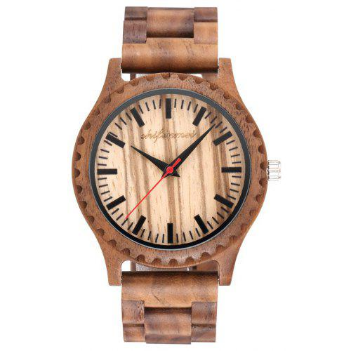 SHIFENMEI 5504 Classic Environmentally Friendly and Minimalist Wooden Watches