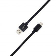 1METER Nylon Micro USB Cable Output 2.0A Fast Charge Wire