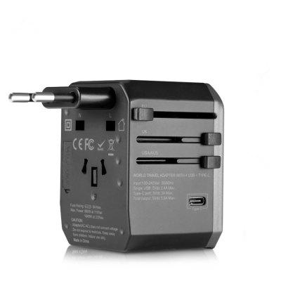 Benks Travel Charger All in One Worldwide AC Adapter