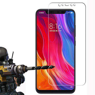 HD Clear Film Scratch Resistant 9H Hardness Tempered Glass for Xiaomi Mi 8