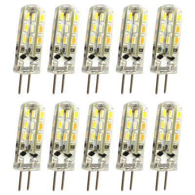 OMTO 10PCS LED G4 Mini Corn Bulb DC AC/DC12V 220V 24 LED  Replace Halogen Light