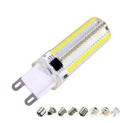OMTO G4 G9 3014 Silikonová LED lampa E11 / 12/14/17 152Led 110V Crystal Bi-pin Light