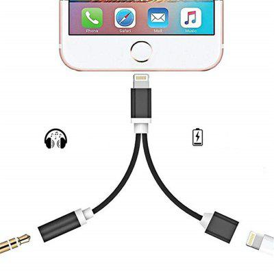 2 in 1 Audio Adapter 8 Pin 2 to 3.5mm Aux Headphone Jack xiaomi bluetooth 4 2 4 5hours battery life 3 5mm jack aux audio musci wireless receiver adapter speaker earphone headphone