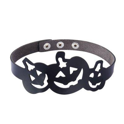 Vogue Personality Hollowed Out Pumpkin Neck Ring
