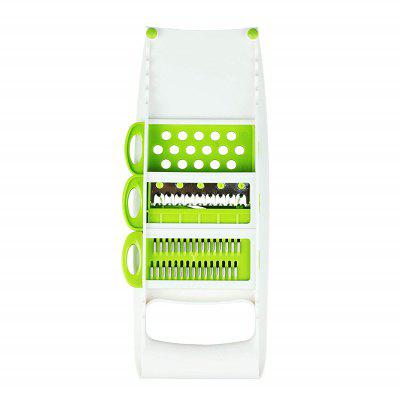 Grater Vegetables Cutter Tools with 5 Blade