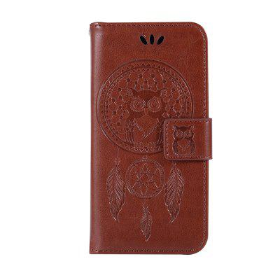 For Samsung   A8 PLUS 2018 Dandelion Embossed Protective Cover