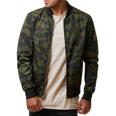 Casual Men's Jacket Camouflage Coat s oliver 14 701 82 6407 59a0