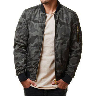 Casual Men's Jacket Camouflage Coat jacket trueprodigy ветровки легкие