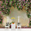 Romantic Rose Wall Mural / Wallpaper Canvas  Covering - Adhesive Required 3D - MULTI